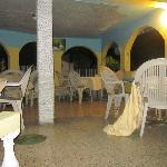 Hotel open dinning room
