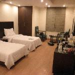 Room 407 Executive twin room