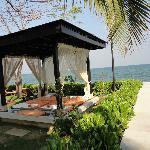 Massage place at the Sheraton