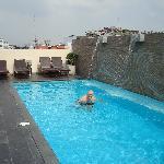 Roof Top Outdoor Pool