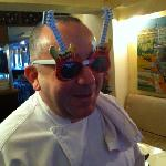 Chef knows how to party!!