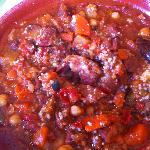Lamb Tangine and prunes