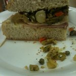Muffeleta sandwich