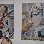 two nice real paintings