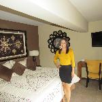 My wife in Peru Bedroom