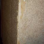 Wallpaper peeling off...