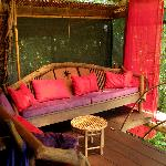 Our cabina sitting room