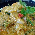 Pad Pong Kari (Seafood Curry)