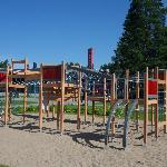 The outdoor playground