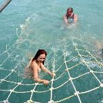 We had so much fun with our own Ocean Jacuzzi - a drag netting experience