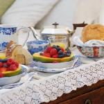 Freshly made breakfast brought to your room