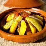 Parmi les plats.. Tajine de Caprin