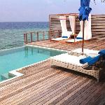 Ocean Villa - room 212 - sun deck - Feb 2012