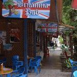 Entrance to Britannia in Sosua