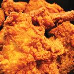 Delicious fried chicken!