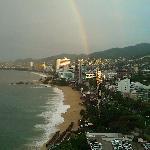 Vista al mar arcoiris incluido