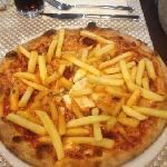 vaya pizza española lo buena. que está