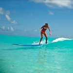 Landis Surfing Cancun with Style!