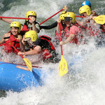 Whitewater rafting on the Rogue River.