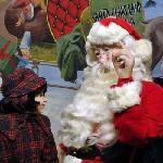 The wax figure of Santa Jim Yellig jog the memories of Good Girls and Boys who visited him at Sa