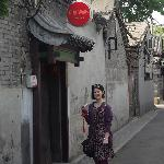Photo de Sitting on the City Walls (Beijing) Courtyard House