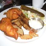 Fish & Chips at O'Petit