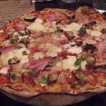 Pizza à couper le souffle !