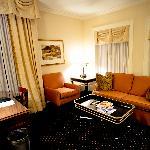 "Room ""lounge"" area"