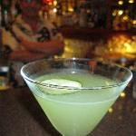 Cucumber martini.. the very best!