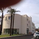 hotel Giordano bruno: l'esterno