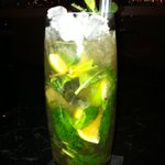 A Winter Mojito Cocktail