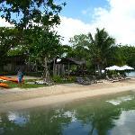 Main swimming beach
