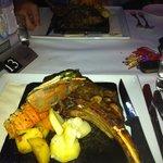 $45 steak with marron