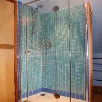 New for 2012 - Luxury Shower Enclosure added to the Bathroom