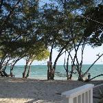 Coral Harbour Beach House's beach