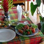 Le Flambeau Restaurant Crayfish Creole