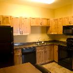 kitchen in extended stay