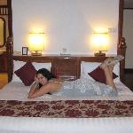 The great big comfy bed