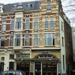 Outside Belgisch Biercafe Boudewijn, Rotterdam