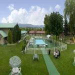 Pool Courtyard Aerial