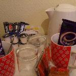 Fully stocked tea tray