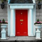 Our Dublin Georgian Door!