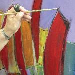Painting Class at the Dunedin Fine Art Center