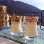 Mmmmm.... breakfast on the terrace