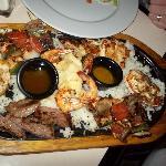 Chicken, Steak and Lobster!!!