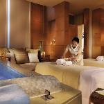 A magnificent Four Seasons Spa offers a variety of beauty and massage treatments.