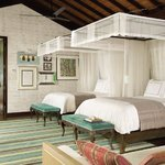 Twin bed villa