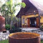entrada restaurante kinich