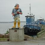 East Port Sailor he stands for so much if you understand how people live here. ....