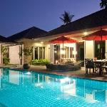 Private Pool View - Night